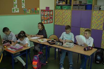 Test w klasach drugich
