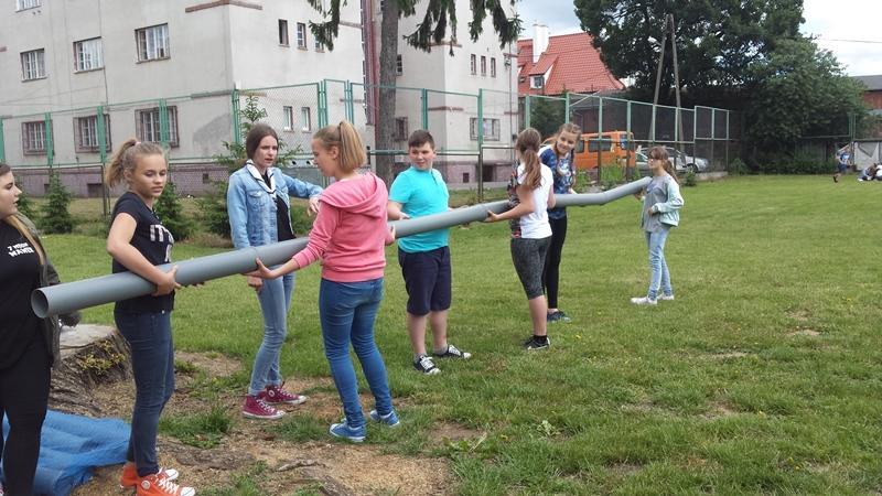 Harcerze w Dwójce – spotkanie z uczniami klas VI