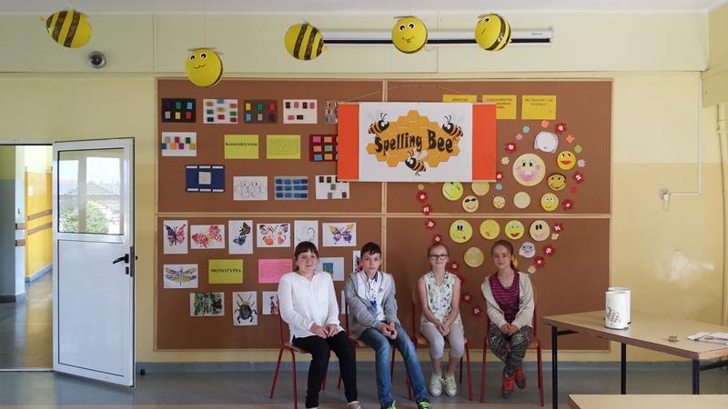 II szkolny konkurs z j. angielskiego 'Spelling Bee'