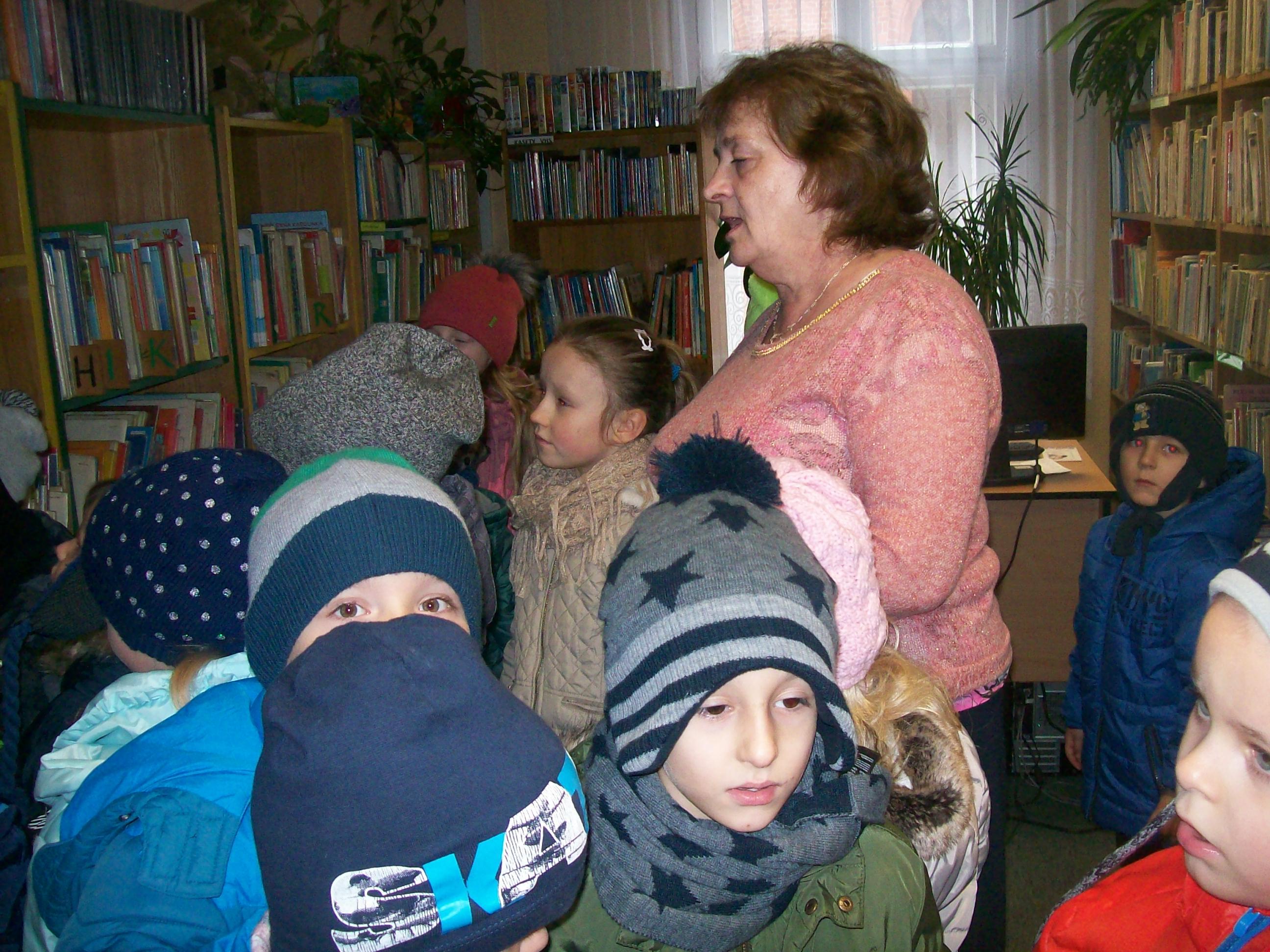 Najmłodsi z wizytą w Bibliotece Miejskiej
