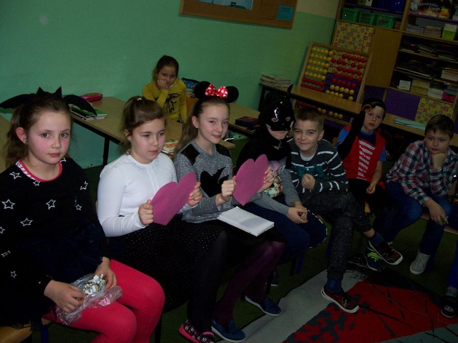 Wróżby Andrzejkowe w klasie IIIa