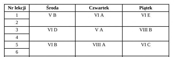 Podręczniki kl. 5-8 (ul. Bankowa 2)