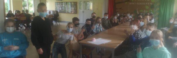 Pierwsze zebranie samorządu na Bankowej